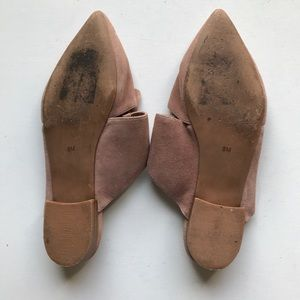 Jeffrey Campbell Shoes - Jeffrey Campbell Charlin Suede Slide Flats Mules